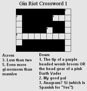 gin-riot-crossword
