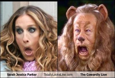 sarah-jessica-parker-totally-looks-like-the-cowardly-lion